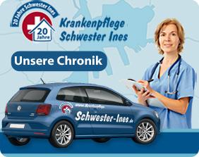Chronik - 20 Jahre Krankenpflege Schwester Ines